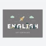 Подарочные сертификаты на изучение английского – где приобрести и как преподнести